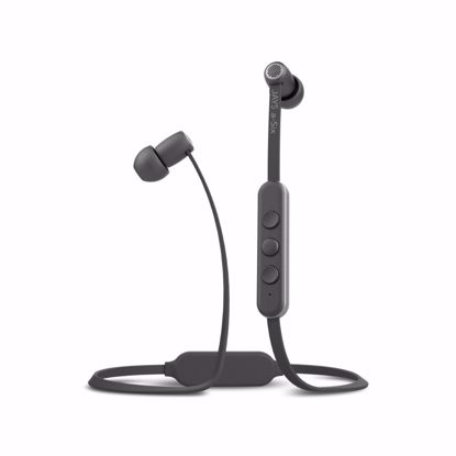 Picture of JAYS JAYS a-Six Wireless In-Ear Eaphones with Mic in Grey/Silver