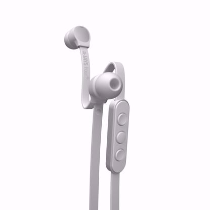 Picture of JAYS a-JAYS Four+ In-Ear Earphones with Mic for iOS Devices in White/Silver