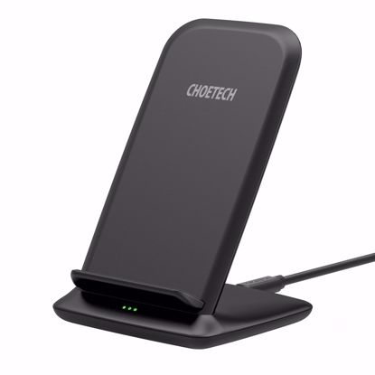 Picture of Choetech Choetech 15W Wireless Charger Stand in Black